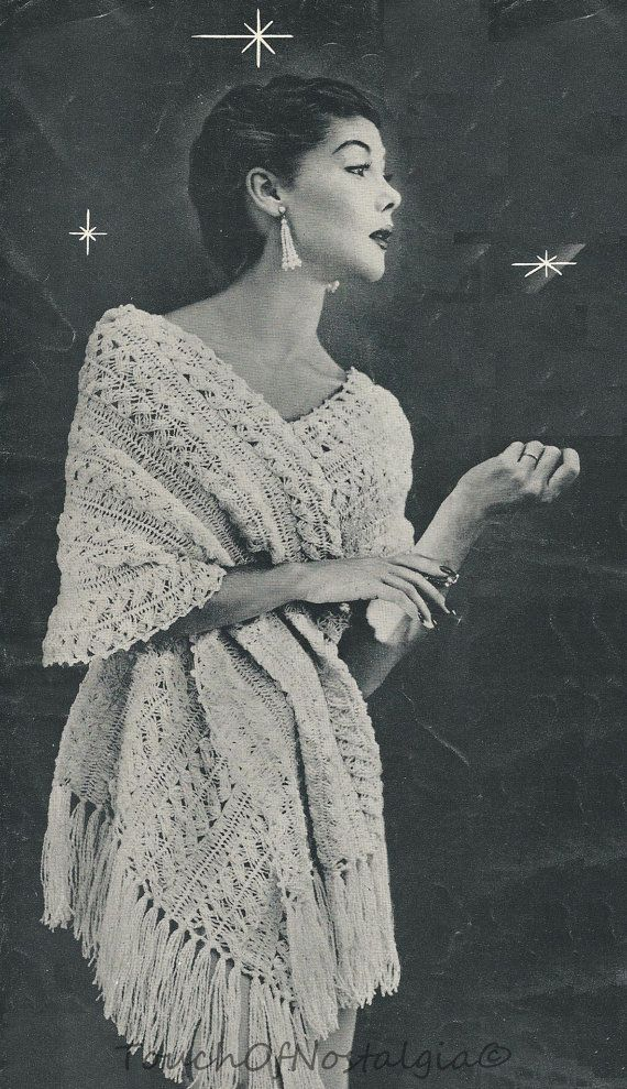 vintage 1950 hairpin lace crochet patterns