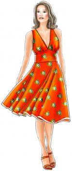 5147 kjole / 50'er stil