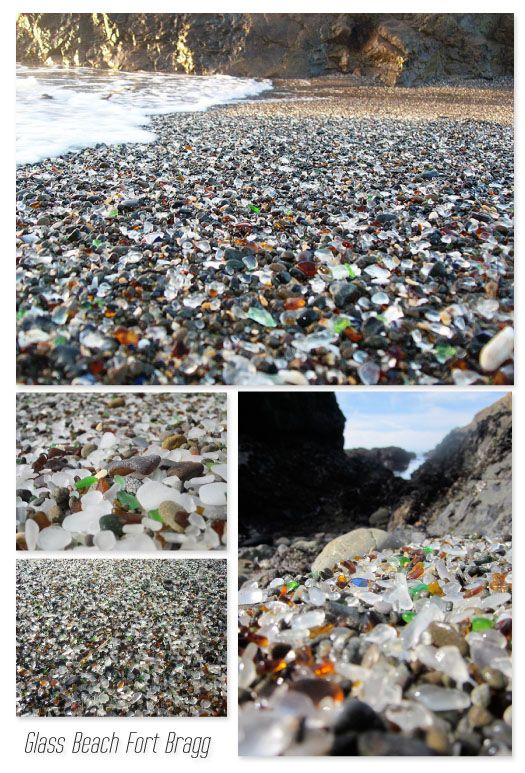glass beach fort bragg  Wouldn't you love to go here?