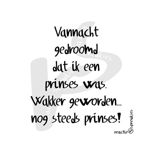 Prinses #humor #meisjes
