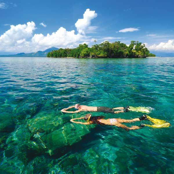 Schnorcheln vor Sulawesi