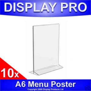 43 best business card holders planet plexi images on pinterest 10 x a6 menu holders acrylic perspex poster sign advertising display stands ebay menu holdersbusiness card reheart Images