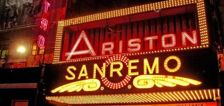 Il teatro Ariston di Sanremo e il Festival della Canzone Italiana