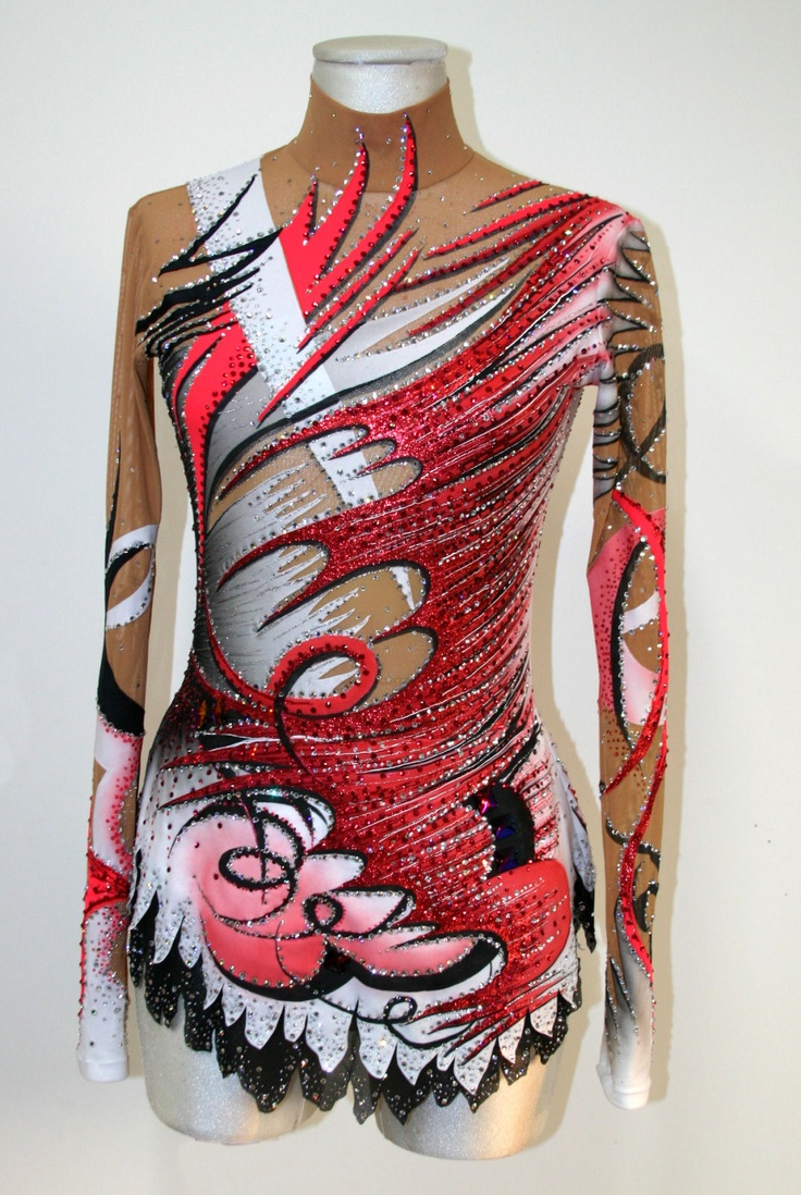 Leotard for RG gymnastic. You can see more leotards on: www.paintyourdreams.it