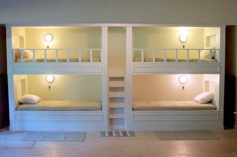 quad bunkbeds do it yourself home projects from ana white bedroom ideas pinterest gro e. Black Bedroom Furniture Sets. Home Design Ideas