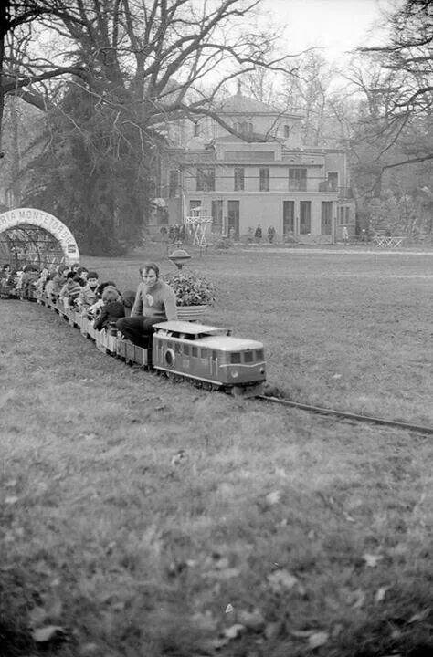 Giardini pubblici, Milano - anni 70
