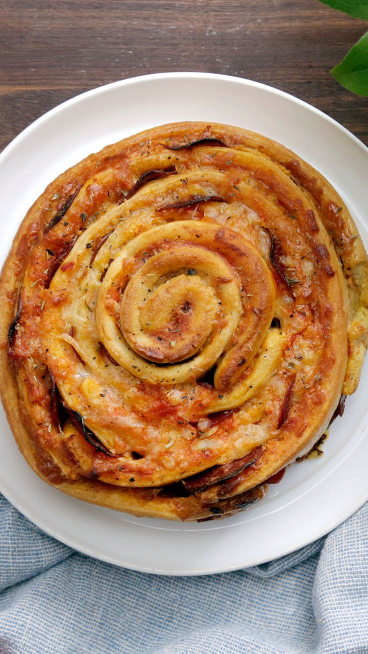 Giant Pizza Roll