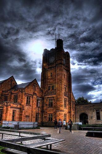 University of Melbourne: Old Arts Building | via Flickr