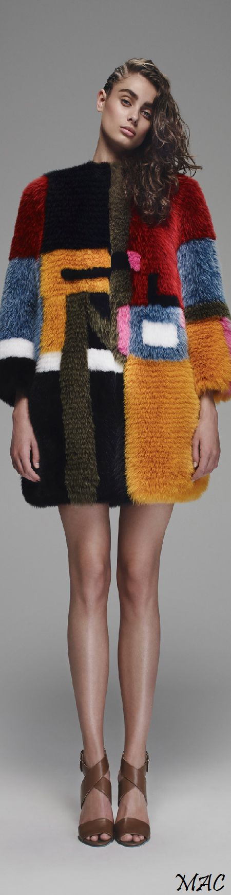 "Resort 2016 Fendi ""And the LORD said to Moses, ""Go to the people and consecrate them today and tomorrow. Have them wash their clothes."" Exodus 19:10"
