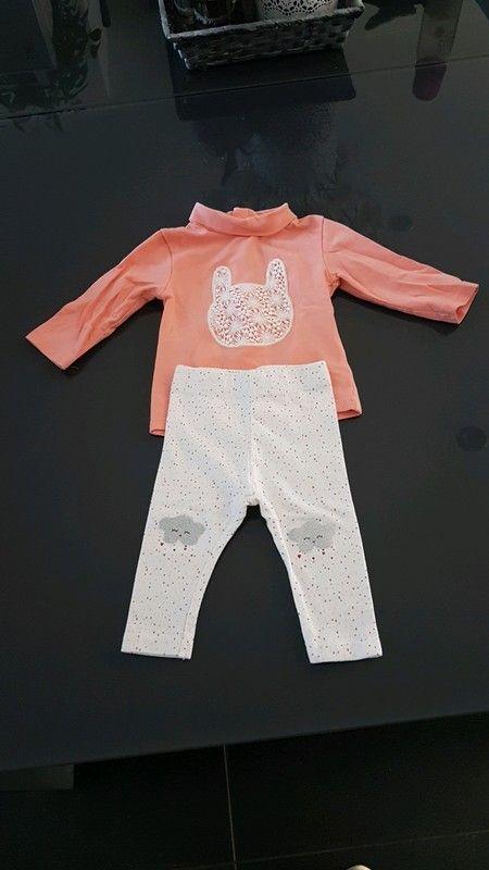 Ensemble bébé 3 mois porté 2 fois KIABI  72991030200