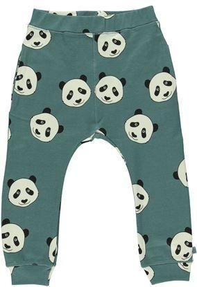 Panda Pants in Blue by Smafolk. Available at Modern Rascals.