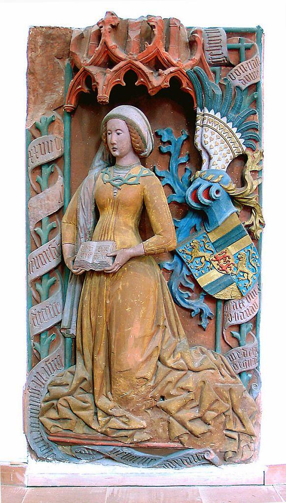 Adriane von Nassau 1477, Hanau