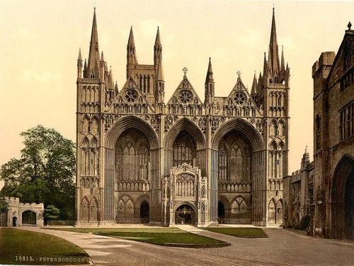 Katherine of Aragon was laid to rest on 29 January 1536 in Peterborough Cathedral, Peterborough, Cambridgeshire, England
