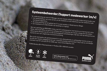 #Mediaplanning voor Puma Benelux