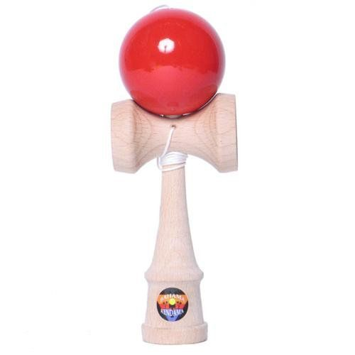 "Kendama / Solid Wood Kendam, Red by Bahama Kendama. $16.99. RED - Extra String included!. Embrace the whole body experience that is the surprisingly addictive Kendama. Use both your mind and your muscles to perform tricks that combine concentration and skill. Amaze your friends, your neighbors and even yourself. A traditional game in Japan, the Japanese say Kendama play promotes ""shinen"" & ""kokoro no nebari"" (concentration and persistence) - important qualities for..."