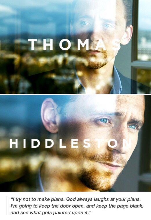 Ladies and Gentlemen, Thomas William Hiddleston