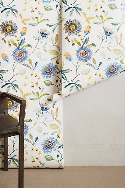 15 best images about michelle morin art on pinterest for Anthropologie wallpaper mural