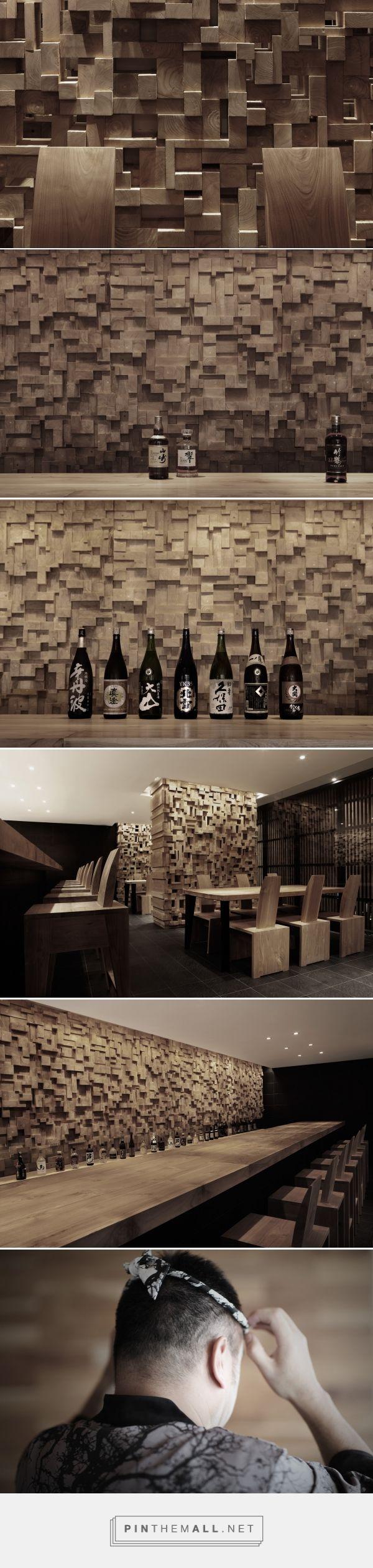 Shiro Sushi / Sake, Bali curated by Packaging Diva PD. Beautiful sake bar.