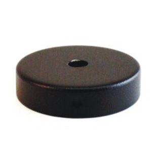 Comprar | Florón para techo o pared de 80mm de diámetro | Rosetones metal negros #handmade #iluminacion #accesorioslamparas #accesoriosiluminacion #fabricatulampara