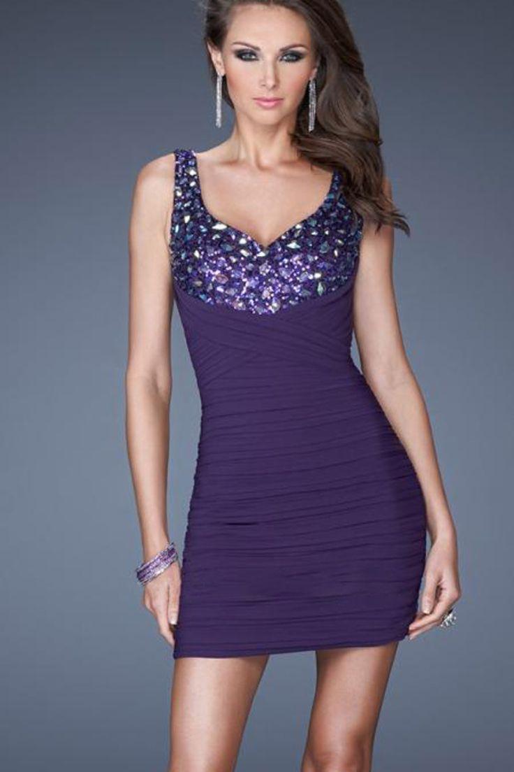Mejores 79 imágenes de Cocktail Dresses en Pinterest | Vestidos de ...