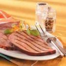 Grilled Marinated Ham Steaks