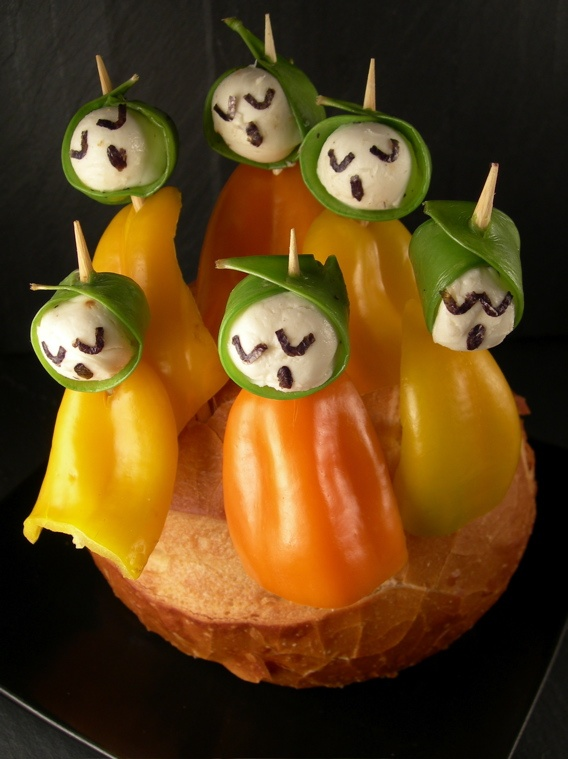 17 best images about halloween fun on pinterest stuffed for Appetizer decoration