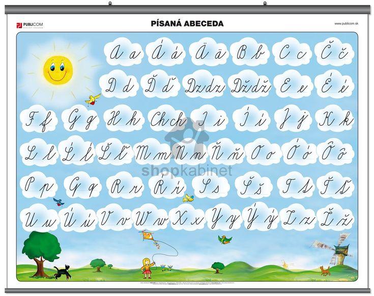 Písaná abeceda | shopkabinet.sk