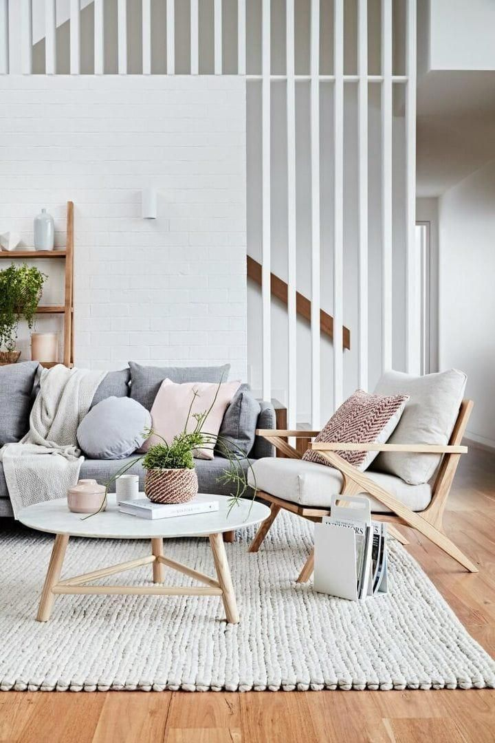 globewest-2016-catalogue-femine-living-room-with-grey-sofa-marble-coffee-table #livingroomhomedecor