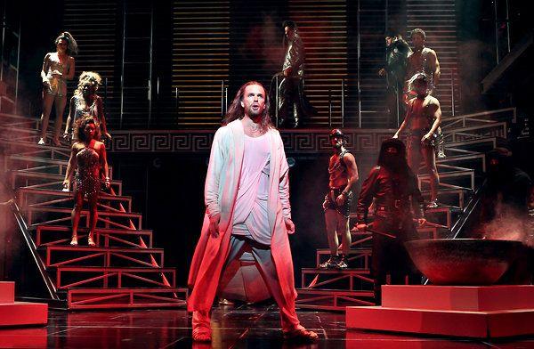 Paul Nolan as Jesus, Jesus Christ Superstar, Neil Simon Theatre, Broadway (opening night!)