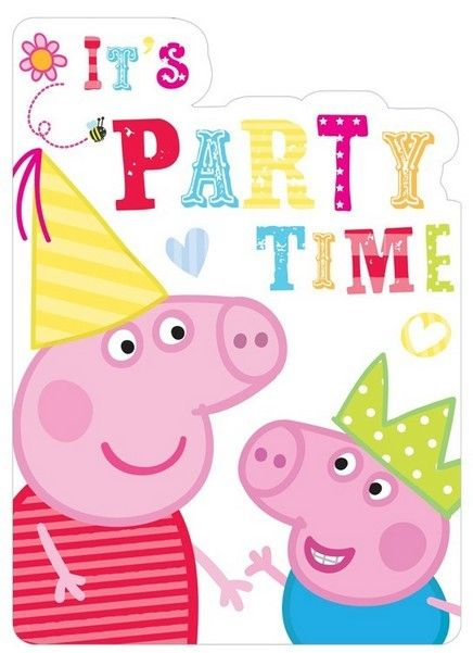 Best 25 peppa pig party supplies ideas on pinterest peppa pig shop online the peppa pig invitation cards in partyweb americas online store with the widest peppa pig party supplies catalogue stopboris Gallery