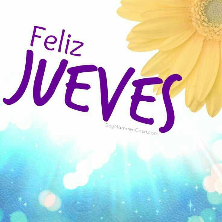 17 Best images about Feliz Jueves on Pinterest Beautiful  : 26d64ead9462dd8c848bf75e5c9d90a8 from www.pinterest.com size 736 x 736 jpeg 42kB