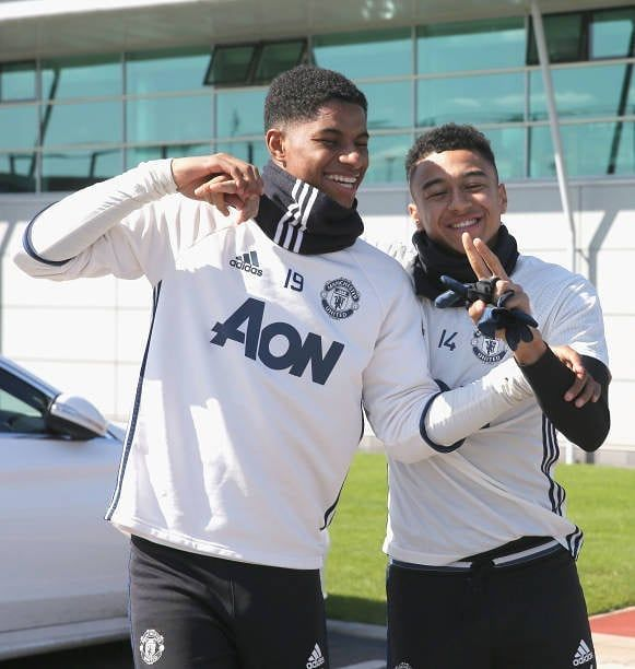 Okay Let S Just Talk About This Bromance For A Sec Marcusrashford Jesseli Manchester United Football Manchester United Manchester United Football Club