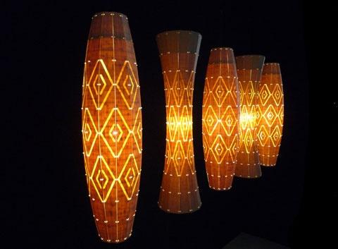 Taniko pattern lights