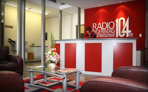Radio Tygerberg 104FM Gemeenskapsradio stasie met 'n Christlike inslag