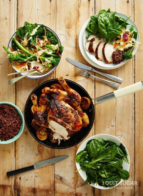 Jerk Chicken with Easy Slaw on the 8-Week Program – I Quit Sugar