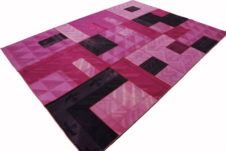 Patchwork Kelim Pink Delight
