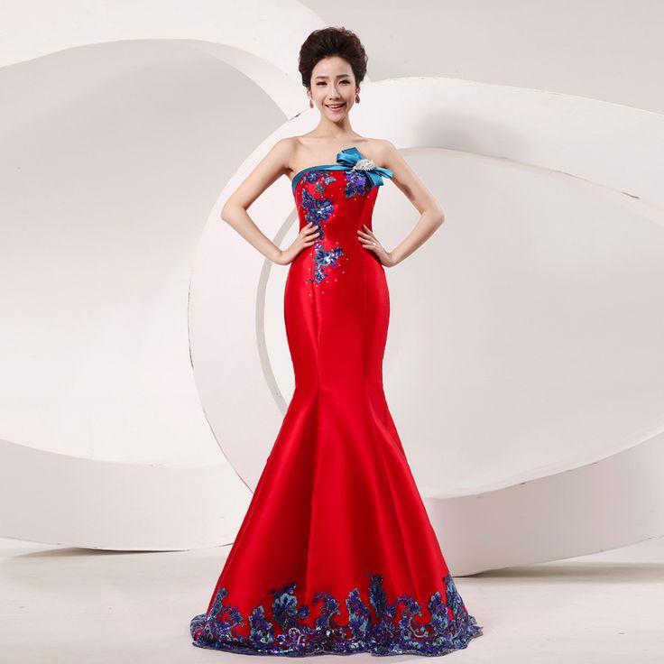 16 besten Red Wedding Dress Bilder auf Pinterest | Hochzeitskleider ...