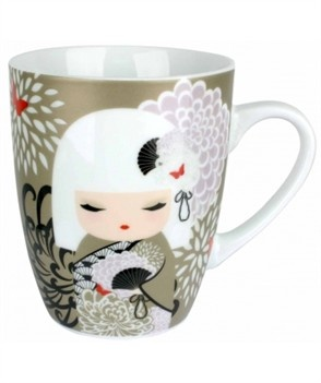 Yoriko mug porcellana decorata Kimmidoll
