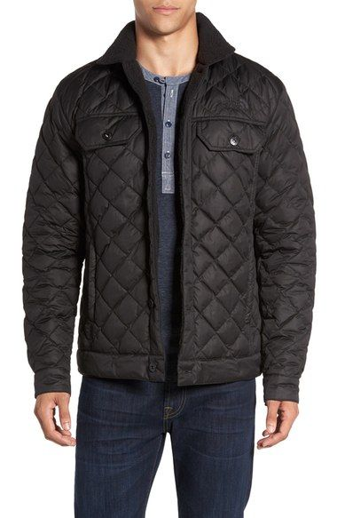 The North Face Sherpa Fleece Lined Quilted Jacket