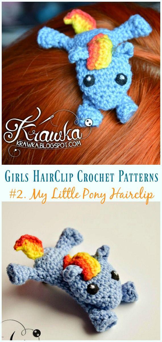 Crochet Flower Hair Clip Tutorial | Crochet hair accessories ... | 1200x570