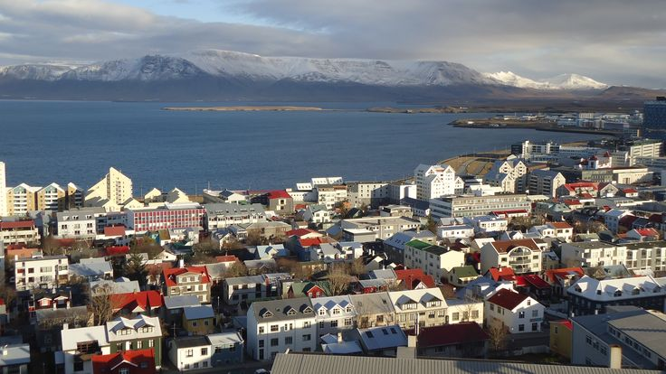 A beautiful view of #Reykjavik, the capital of #Iceland.
