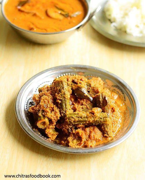 Drumstick Masala - Murungakkai masala poriyal recipe for rice - South Indian version