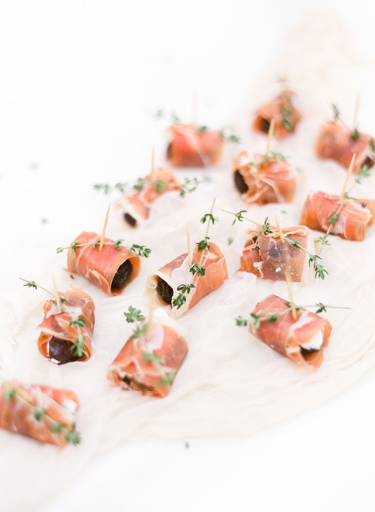 PROSCIUTTO WRAPPED DATES WITH GOAT CHEESE - LAUREN KELP
