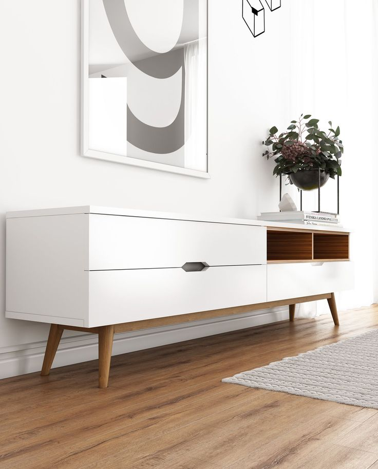 Nilsson TV Stand | Mid-Century Modern | Kure Collection