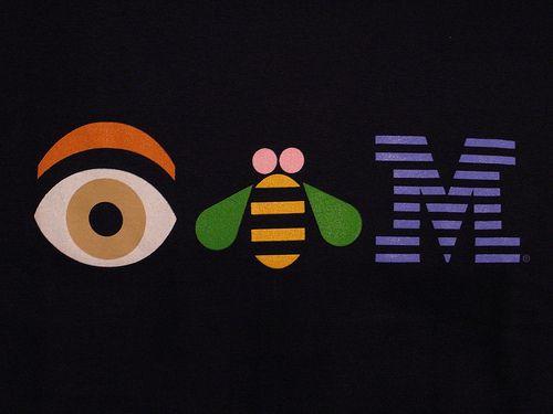 Paul Rand  One of IBM's many logos.