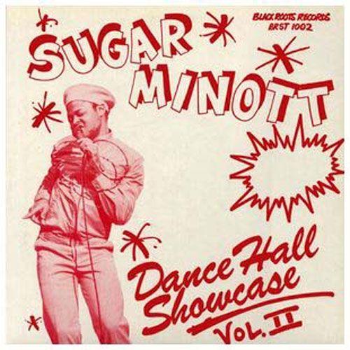 The late great Sugar Minott's 'Dancehall Showcase Vol 2' http://reggaealbumcovers.com/2010/01/sugar-minott-dancehall-showcase-vol-2/