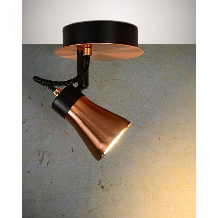 Bili LED spot 1 - koper - Lichtkoning.be