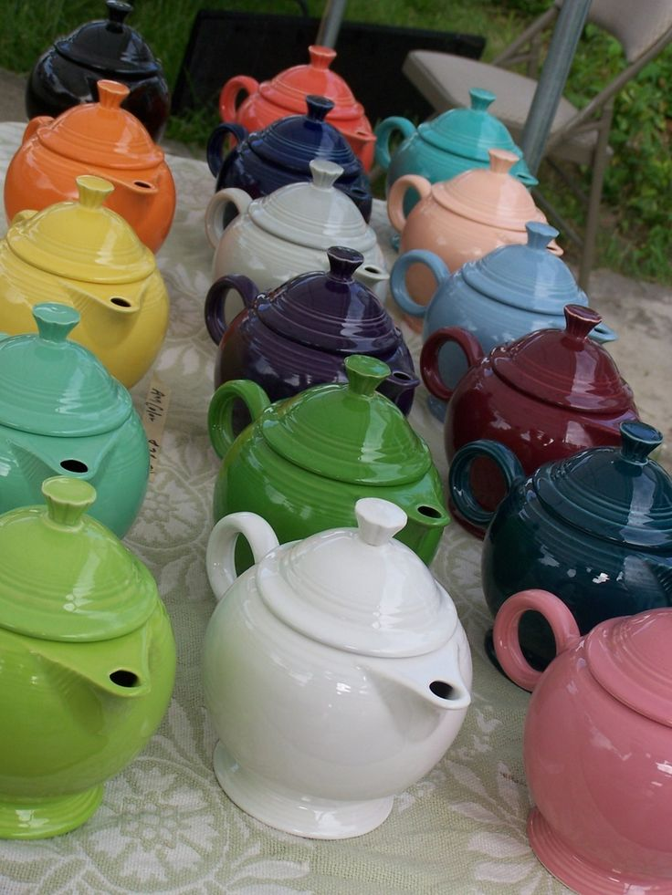 Fiestaware is probably always going to be collectible.  They have produced it for years and each year they have new colors come out.  Do you collect Fiestaware?