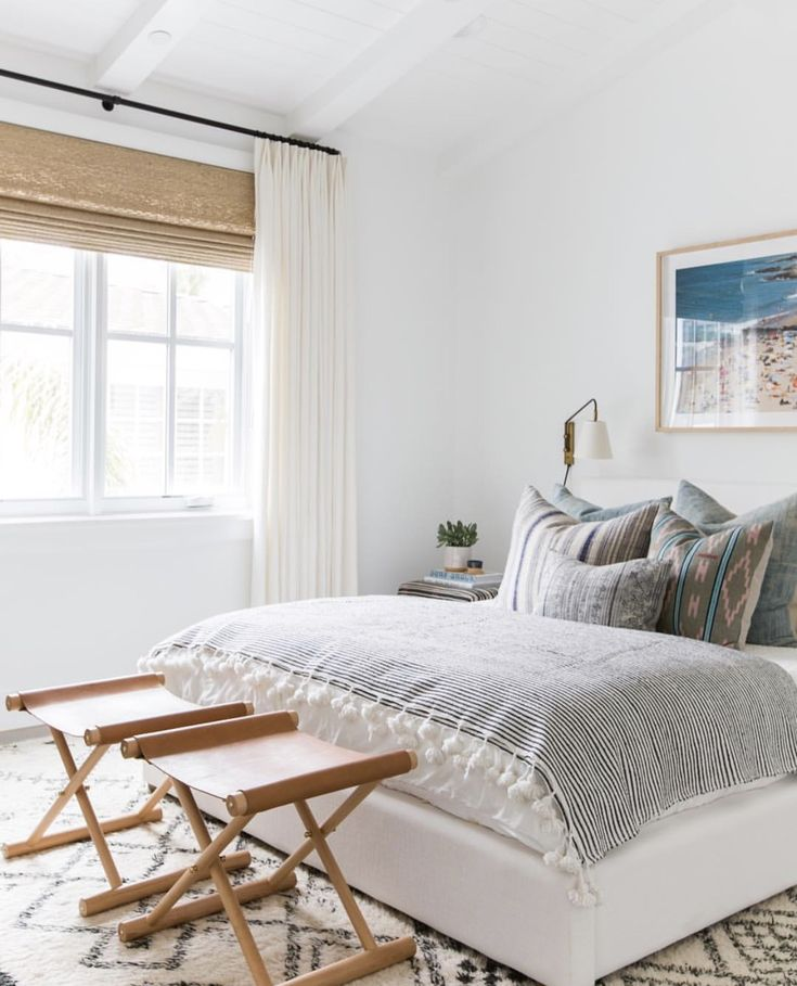 Bedroom inspo via Amber Interiors