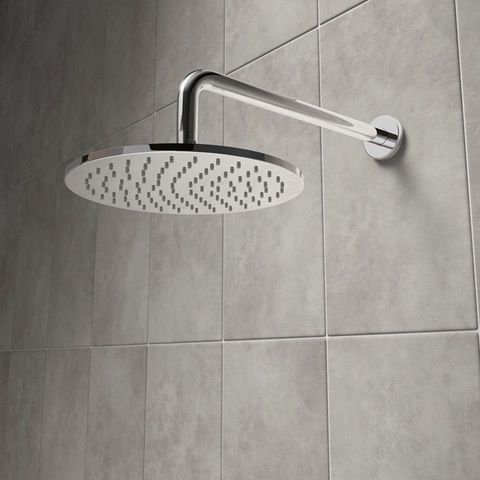 Aria round shower head 250mm - larger than normal
